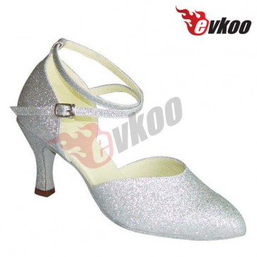 Classical profession high heels lady ballroom mordern dance shoes for women
