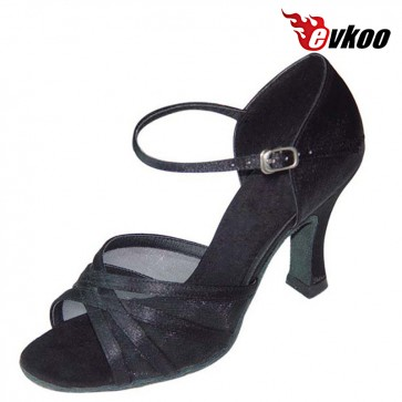 Evkoo Dance Five Color For Choose 7cm Heel Can Be Custom Woman Latin Dancing Shoes Evkoo-100