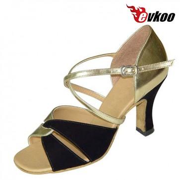 Ladies sexy ballroom/latin satin dance shoes
