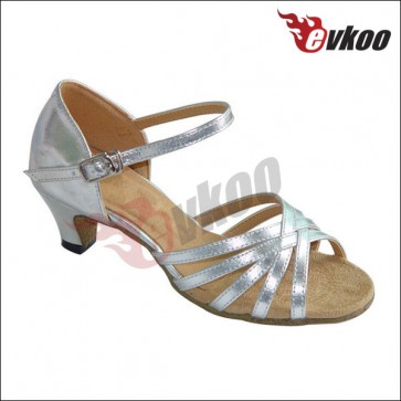 Latin dance shoes for baby girl with high quality and low heel