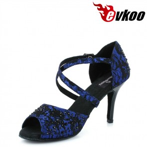 8.5CM Heel Multifunctional Latin Dance Shoes For Women Ballroom Shoes Online Dancing Shoes Made In China