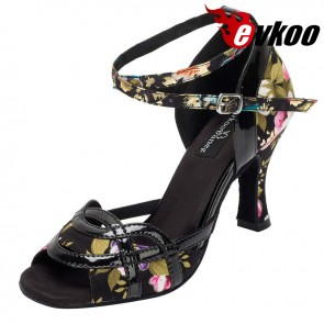 Classic Hot Selling Latin Dance Shoes For Women Ballroom Shoes Online Dancing Shoes Heel Can Be Customized