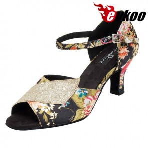 Cheap Price Professional Women Dance Shoes Wide Dance Shoes Dancing On Promotion