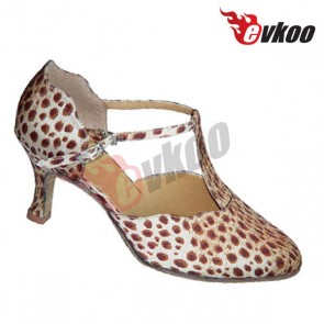 Classic mordern/ballroom middle heel dance shoes