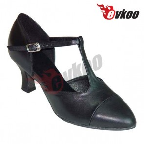 Black Ballroom/tatin/modern dance shoes for woman