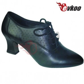 Black high heel Leather  women Mordern/ballroom dance Shoe