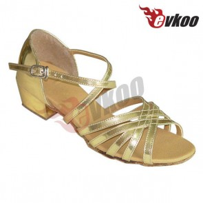Low heel latin/ballroom dance shoes for children