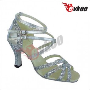 Sparking  dance shoes salsa latin dance shoes