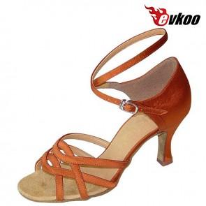 Ballroom/latin/tango Mid heel stylish lady latin dance shoe