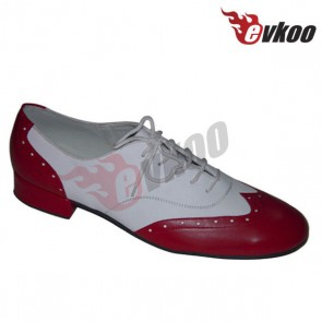 Evkoo genuine leather material modern dance shoes for man